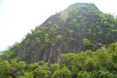 Rock Climbing Photo: Matt on 'Yee-Haw', Covert Crag, Dong Lan F...