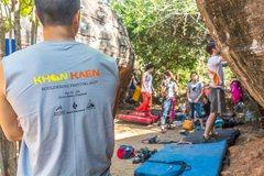 Rock Climbing Photo: Khon Kaen Bouldering Festival January 2017