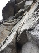 Rock Climbing Photo: P3 start