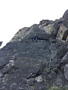 Rock Climbing Photo: Probably one of the best 5.10 climbs in Logan Cany...