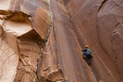 Rock Climbing Photo: Pumping out.