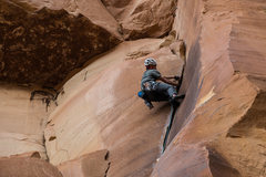 Rock Climbing Photo: Mark on TH Crack.