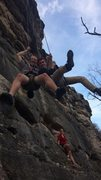 Rock Climbing Photo: Me and my boi and some chic and capen park in Colu...