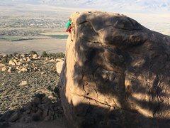Rock Climbing Photo: Merlin the wizard