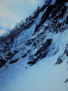 Rock Climbing Photo: BIB from the base of Blind Fate Mar 2014