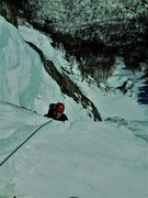 Rock Climbing Photo: Topping out Blind Fate Mar 2014