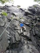 David Carrier climbing Sweet Pea