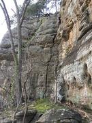 Rock Climbing Photo: Unfinished Symphony
