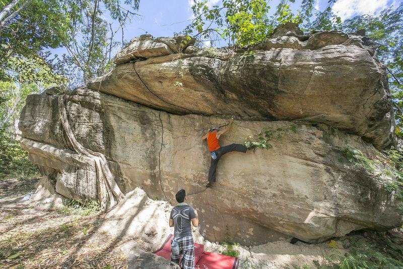 Bouldering in Khon Kaen