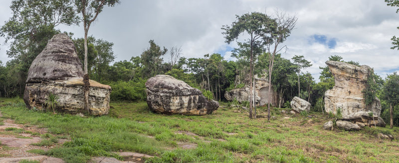 Hin Chang Si &@POUND@39@SEMICOLON@Upper Meadow&@POUND@39@SEMICOLON@ boulder field, Nam Pong National Park, Thailand