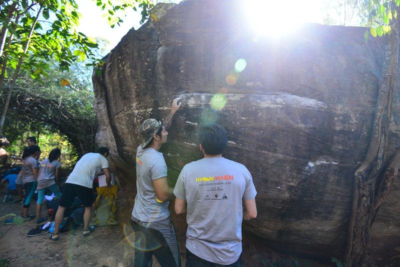 The 1st Khon Kaen Bouldering Festival Jan 2017