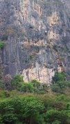 Rock Climbing Photo: New sport climbing area at Dong Lan Forest, Khon K...