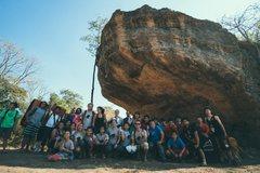 Rock Climbing Photo: Khon Kaen Bouldering Festival Jan 2017. Photo by C...
