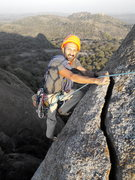 Rock Climbing Photo: Topping out P3/