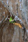 Rock Climbing Photo: Climbing in Jurassic Park, Kalymnos, Greece.