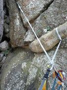 Rock Climbing Photo: Tree belay