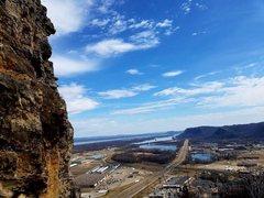 Rock Climbing Photo: View of Winona