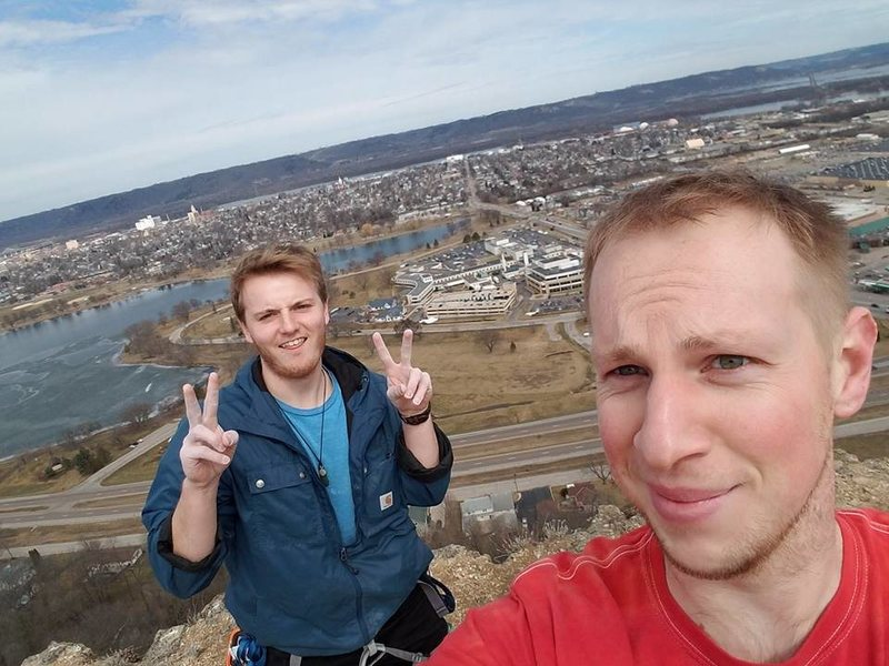 At the top for the first time