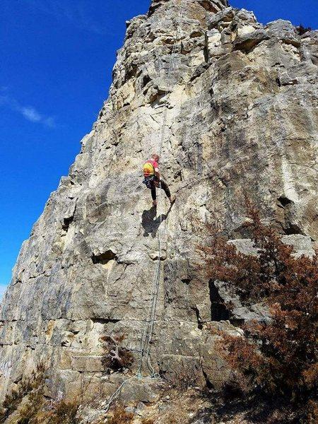 Rock Climbing Photo: rap baby!