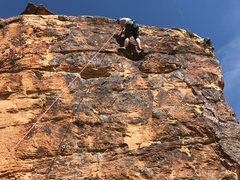 Rock Climbing Photo: Face-on view