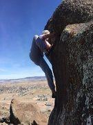 Rock Climbing Photo: New found Boulder