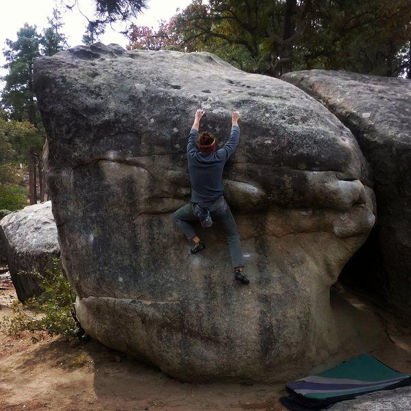 Rock Climbing Photo: Tootsie Roll V0