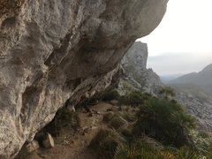 Rock Climbing Photo: View of the crag on the approach in