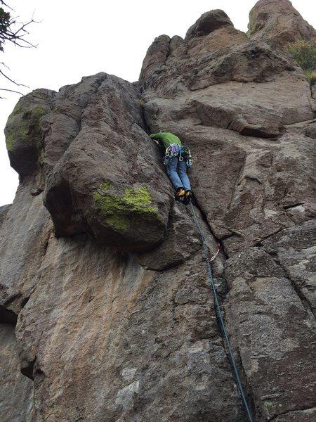 Fun, low-angle climbing