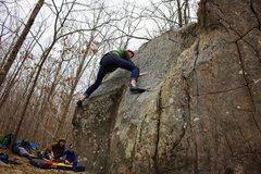 Rock Climbing Photo: Spenser Garcia flashing Ponoma Animal Society (V3)
