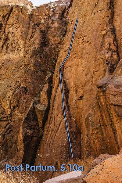 Rock Climbing Photo: Post Partum.