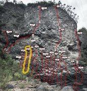 Rock Climbing Photo: La regleta