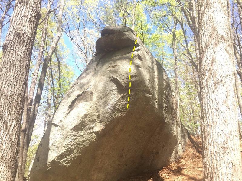 Rock Climbing Photo: Thud