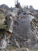 Rock Climbing Photo: School Rock topo