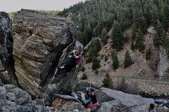 Rock Climbing Photo: A photo of the send.