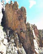 Rock Climbing Photo: Slabby.