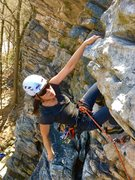 Rock Climbing Photo: Remembering to breathe