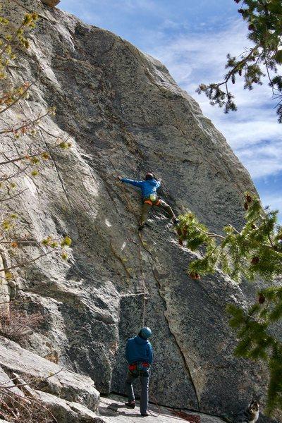 Better shot of this fun little climb.