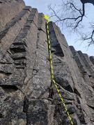 Rock Climbing Photo: Hanz Crack overview