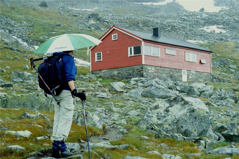 "Rock Climbing Photo: Umbrella - one of the ""10 essentials"" fo..."