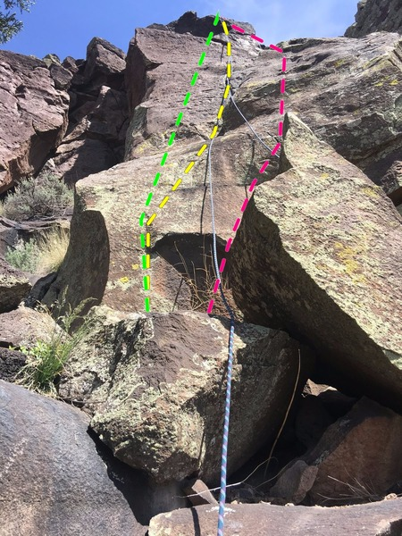 Rock Climbing Photo: Since this is the larger, more meaty of a couple w...