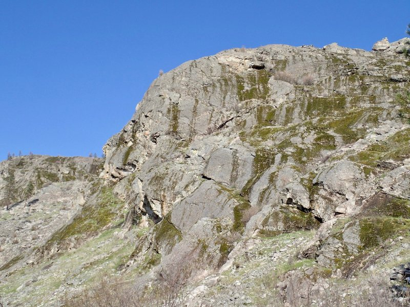 Rock Climbing Photo: Lower West Face from the SW