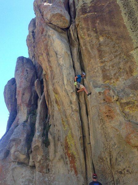 Rock Climbing Photo: perfect kneebar rest