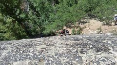 Rock Climbing Photo: Entrance Slab Right.