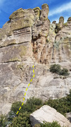Rock Climbing Photo: Right side of Mean Mistreater Wall.