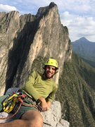 Rock Climbing Photo: Enjoying the summit of Yankee Clipper in the Potre...