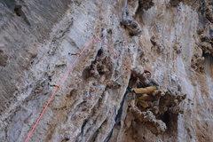 Rock Climbing Photo: Another possible rest - the buttbar (aka- buttscum...