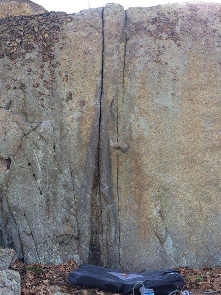 Rock Climbing Photo: Nanu Nanu Crack.
