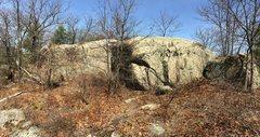 Rock Climbing Photo: Deep Woods 03 - Rock Garden Cliff.