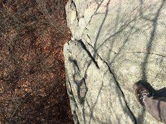 Rock Climbing Photo: Rock Garden Cliff.