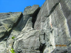 West Face of The Lions Head,  <br />Catacombs Route 5.7